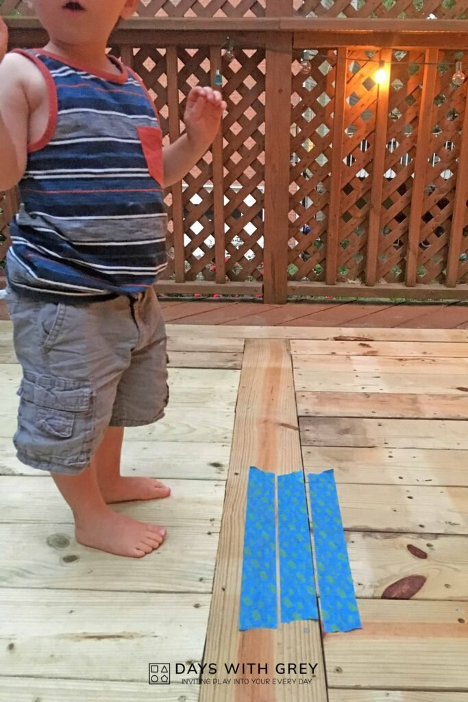 gross motor jumping activity for kids