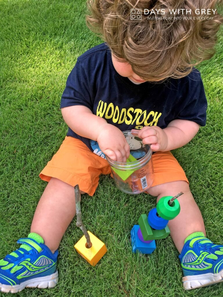 outdoor fine motor activity