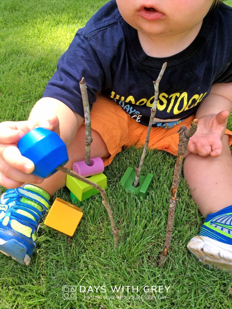 outdoor fine motor for toddlers