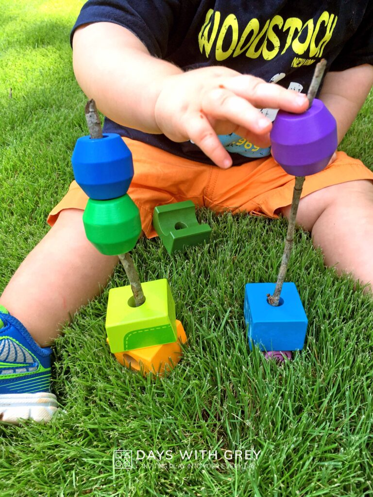 outdoor fine motor activity for toddlers