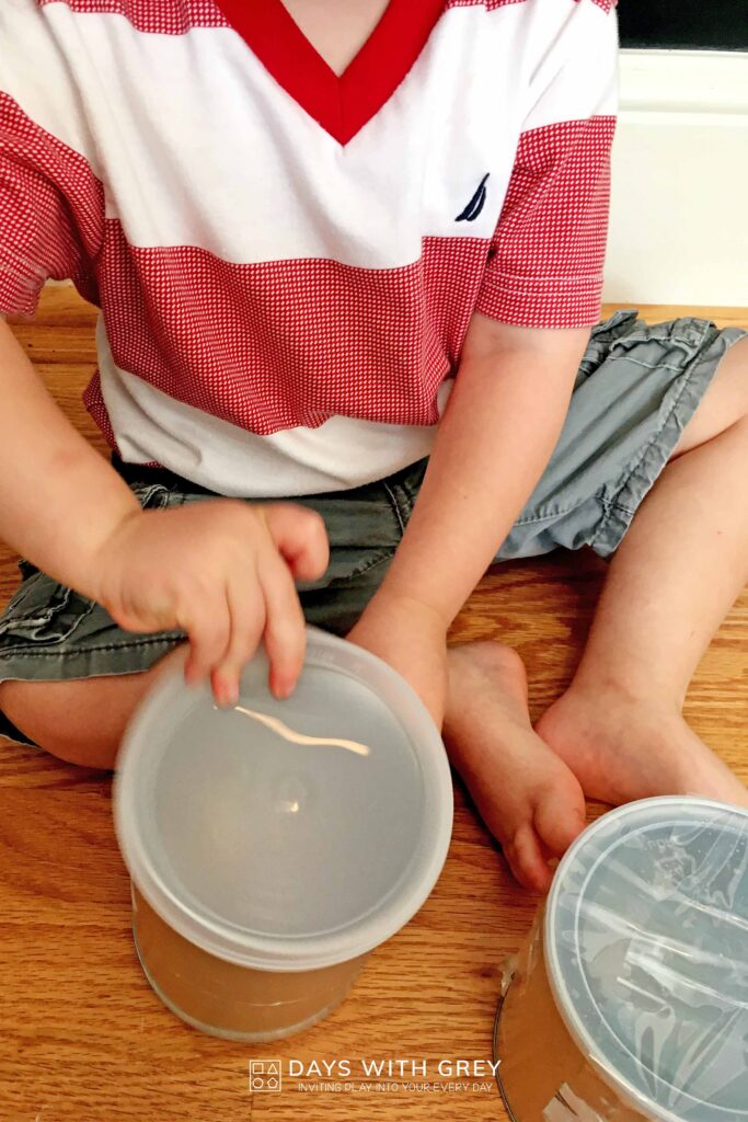 Toddler Science Activity