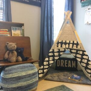 Step Inside Hayes's Reading Nook and See What We are Reading This Halloween