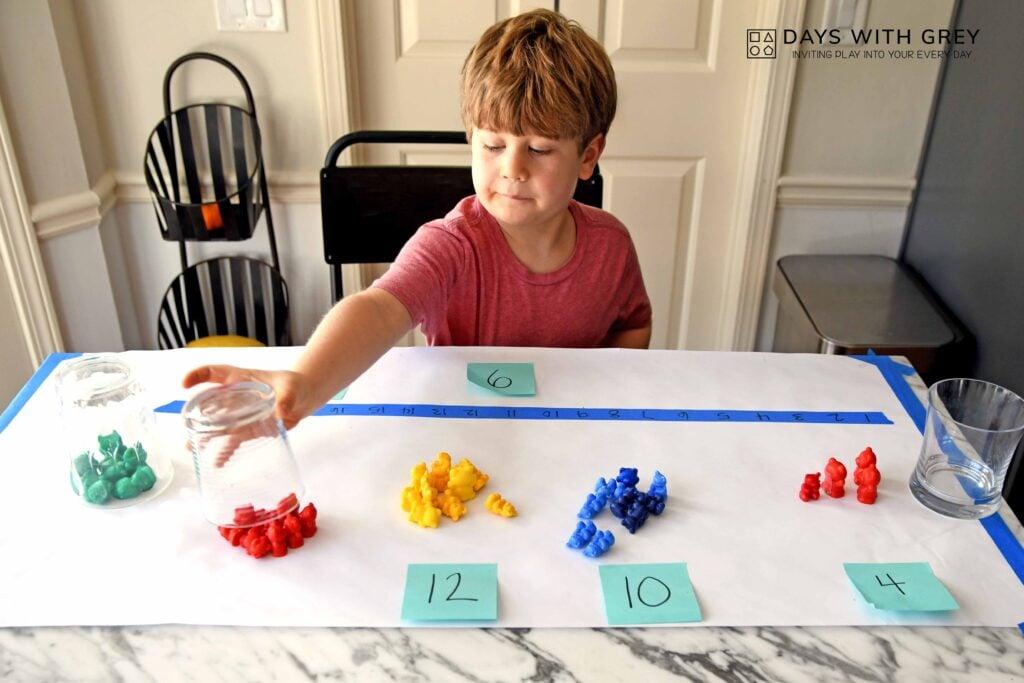 Hands-on math activity