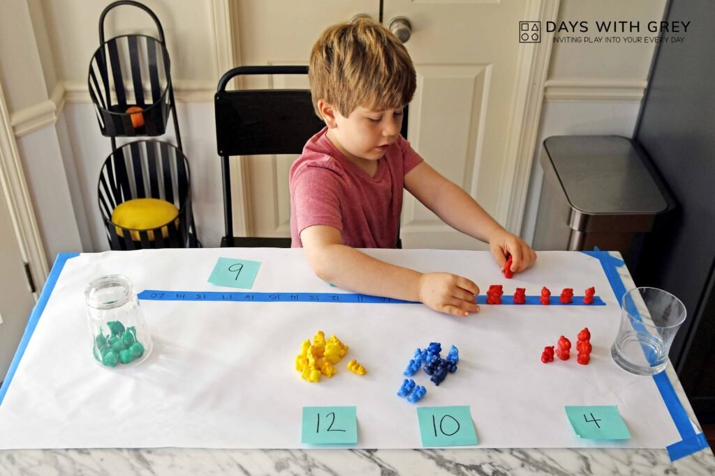 Hands-on counting