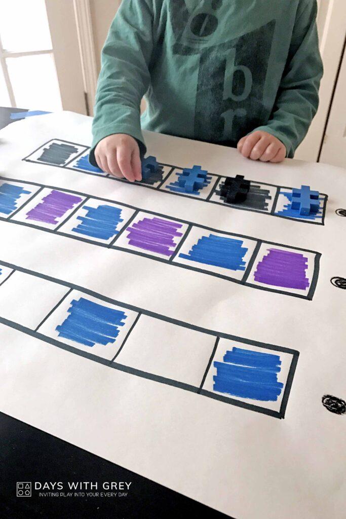 Pattern activity for preschool