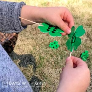 St. Patty's Day Outdoor Activity