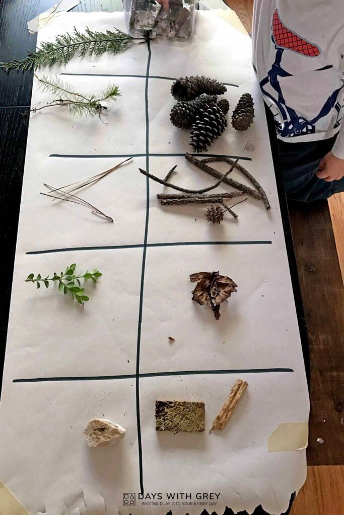 preschool nature activity