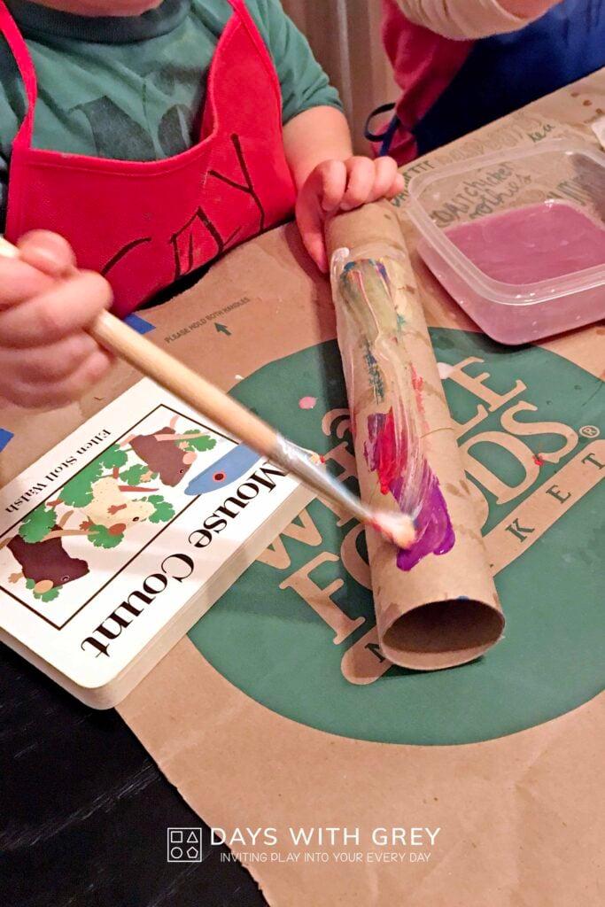 preschool book Mouse Count