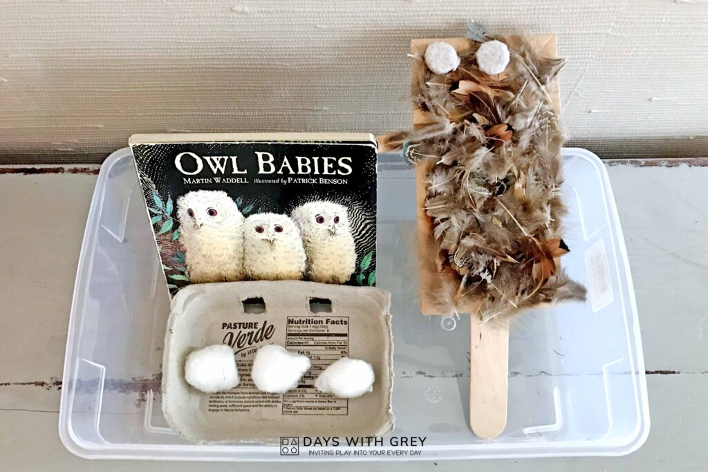 Owl Babies art activity