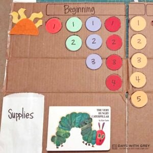 The Very Hungry Caterpillar Count Up