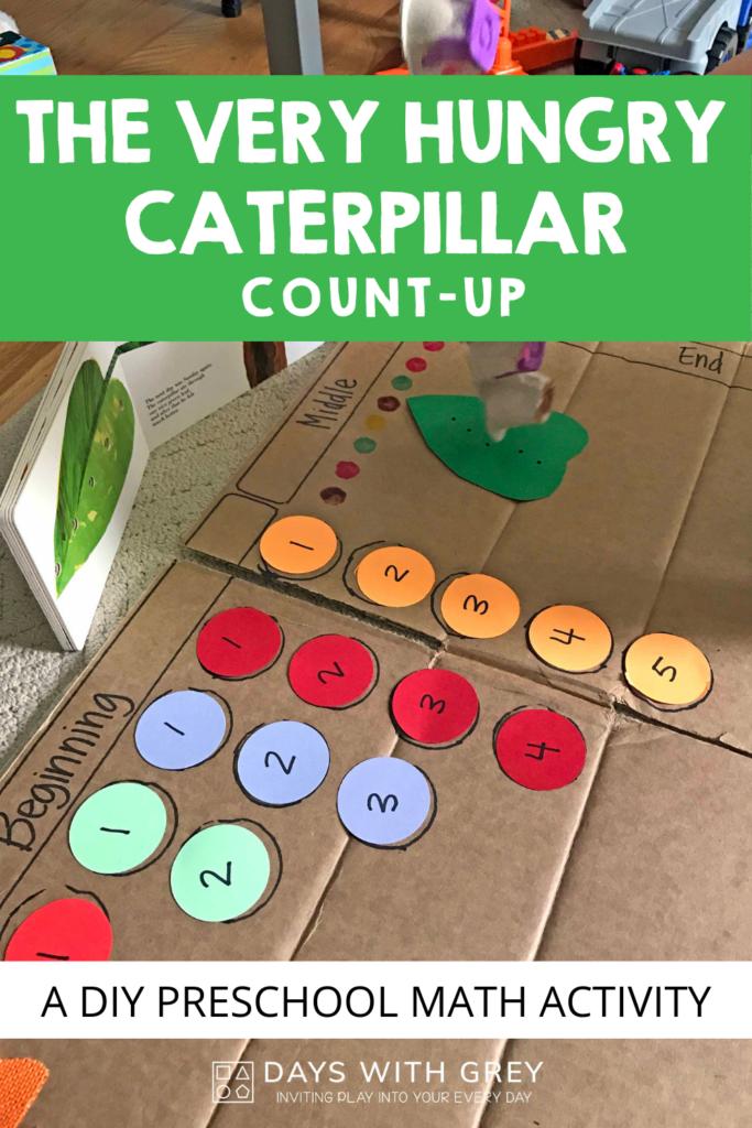 preschool math activity