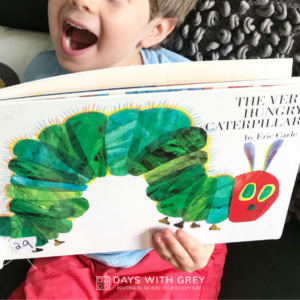 The Very Hungry Caterpillar Activity!