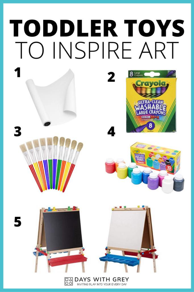toddler toys for art