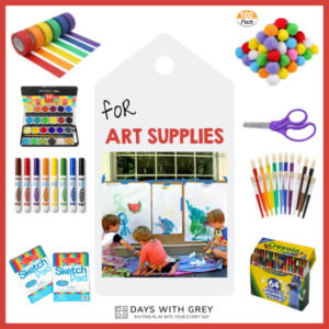 20+ Craft Supplies for Kids