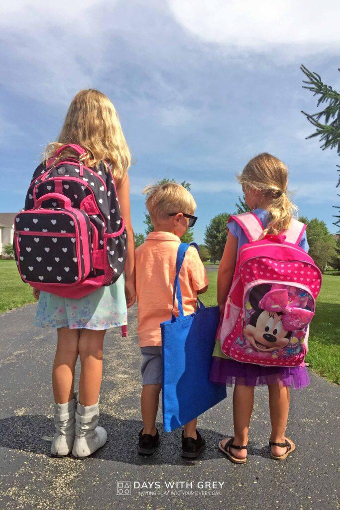 Back to school for Kindergarten