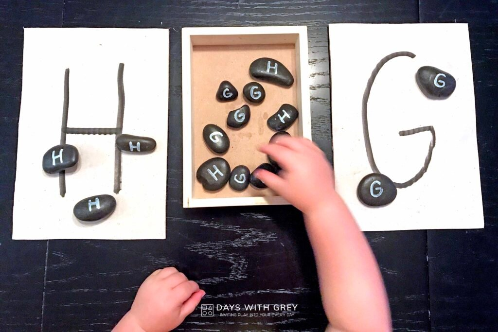 hands-on letter activity