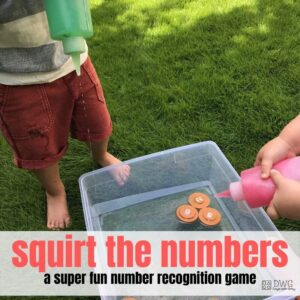 Squirt the Numbers