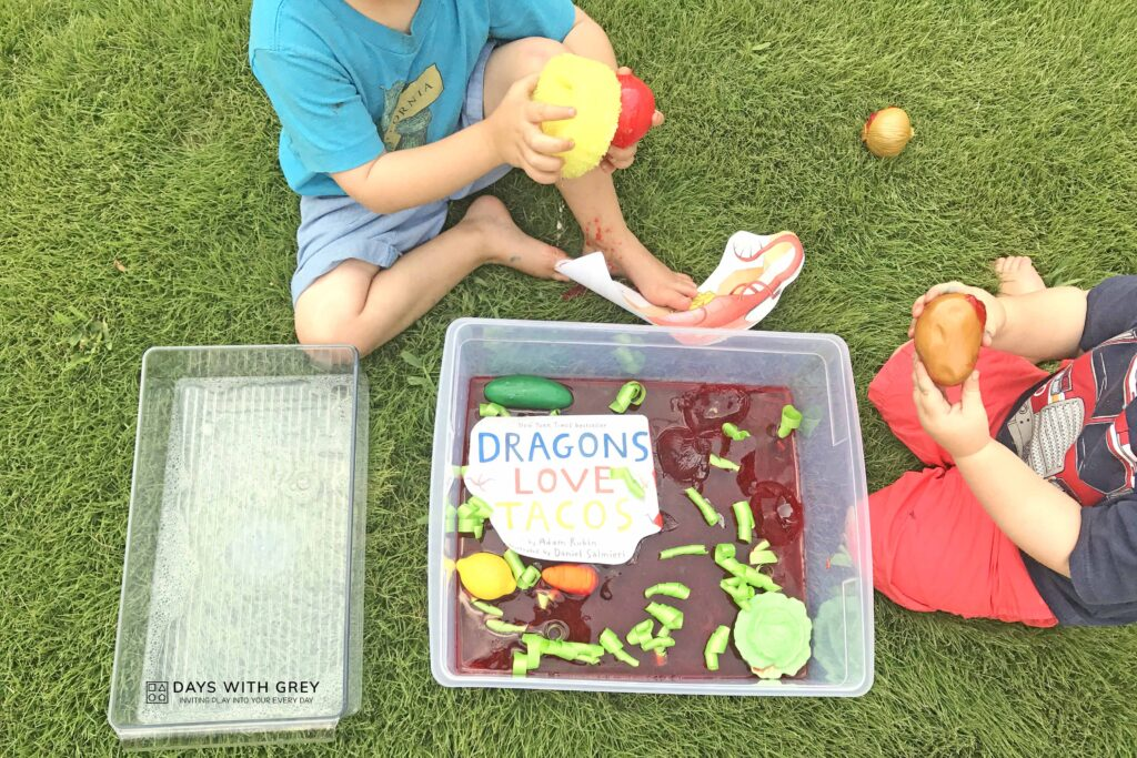 Preschool book activity