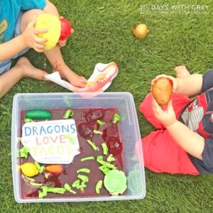 Dragons Love Tacos Activity