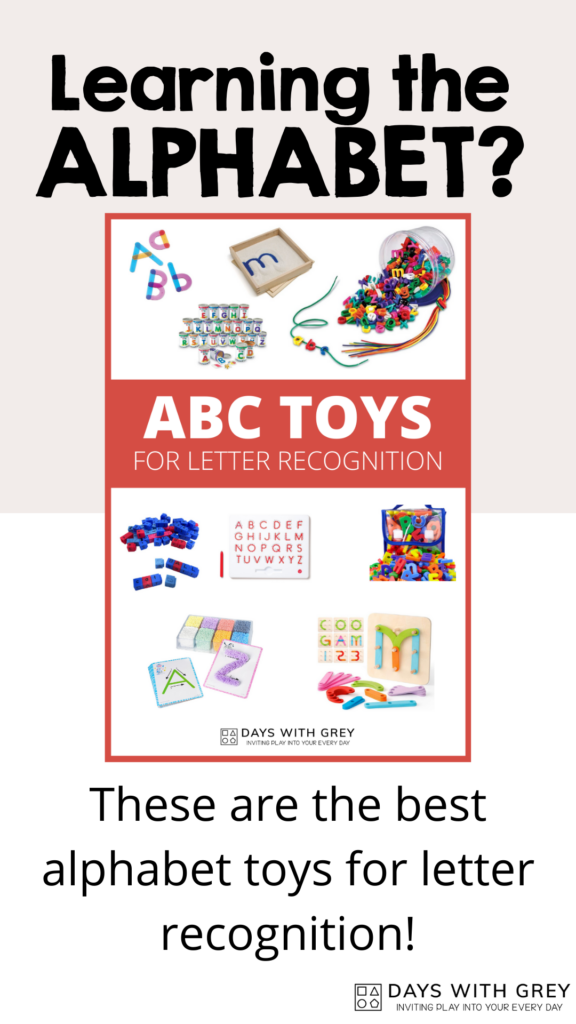 toys to learn the ABC