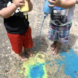 Magic Chalk Painting