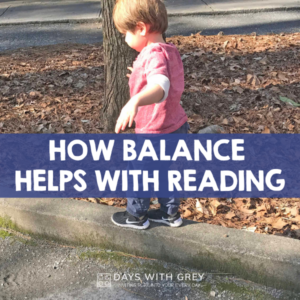 How Balance Practice Can Improve Reading