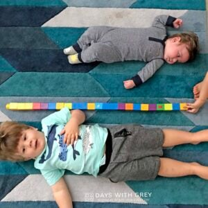 Measuring Kids with Blocks