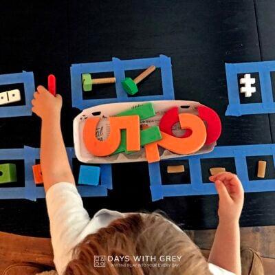 preschool counting activity