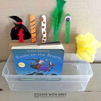 Halloween book craft