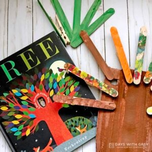 Tree: A Peek Through Picture Book Activity