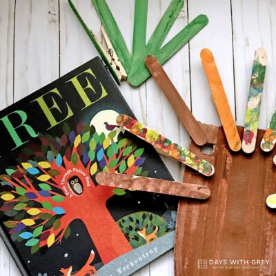 preschool book craft activity