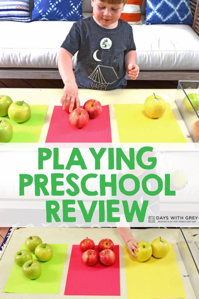 Playing Preschool Curriculum