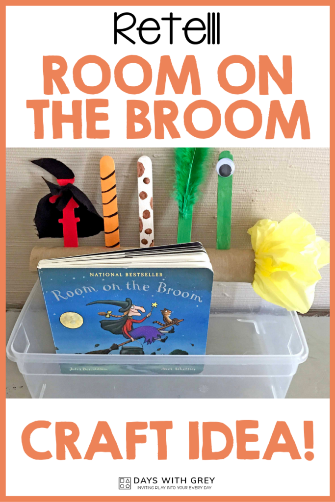 Halloween book and craft activity