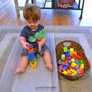 Toddler Block Box