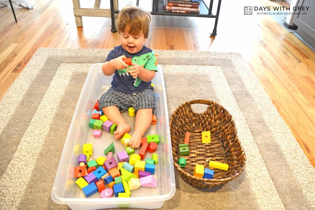 toddler block activity