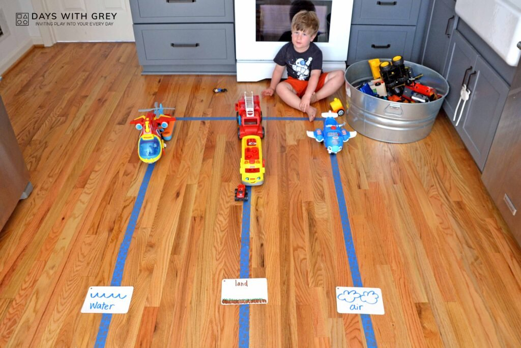 indoor math activity
