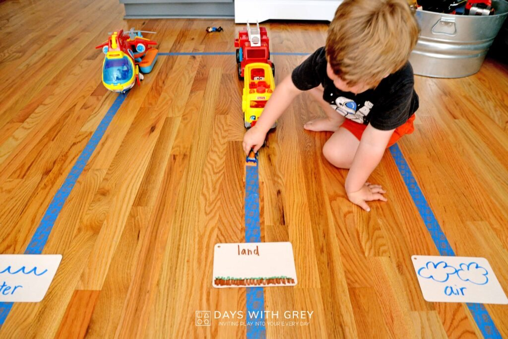 preschool indoor activity