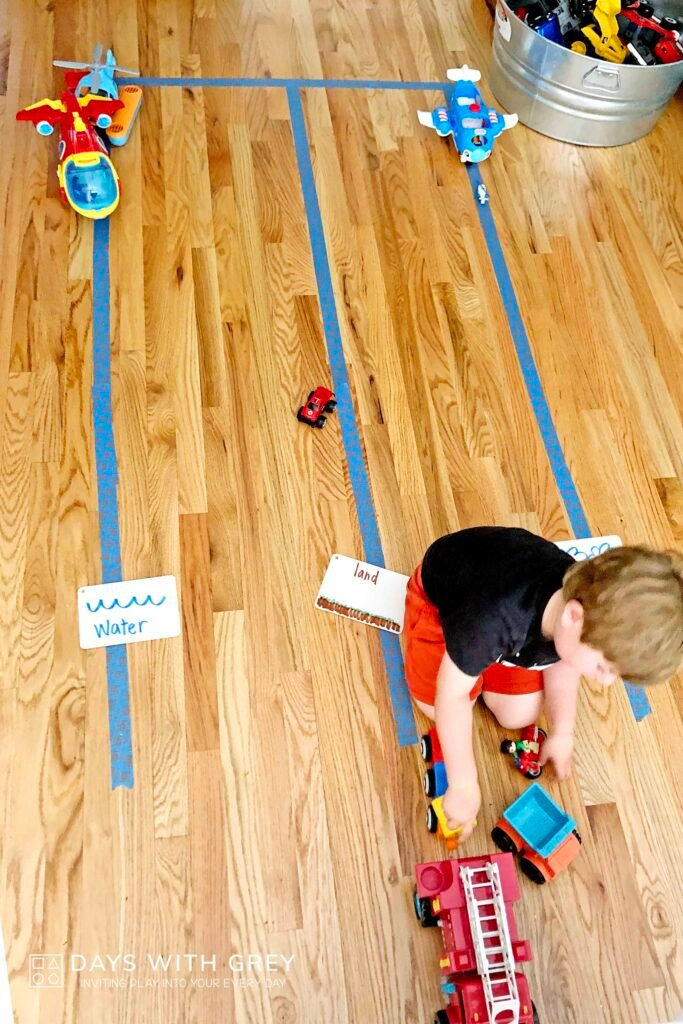 preschool indoor game
