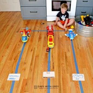 Transportation Toy Sort