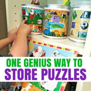 One Genius Hack That Will Change the Way You Store Puzzles