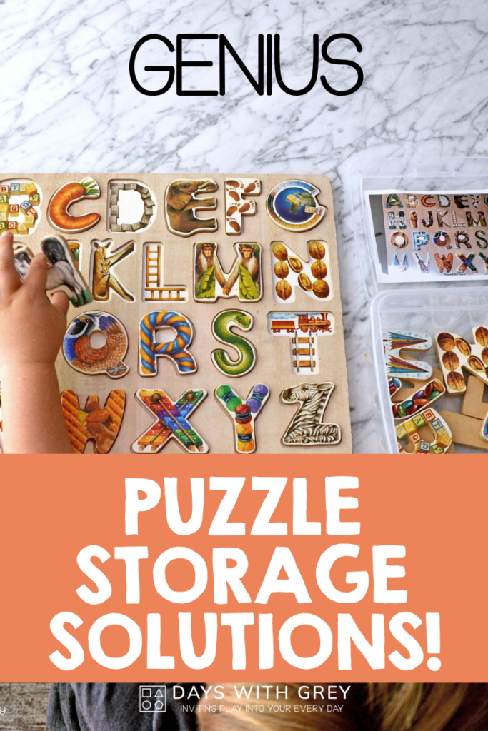 hack for storing puzzles