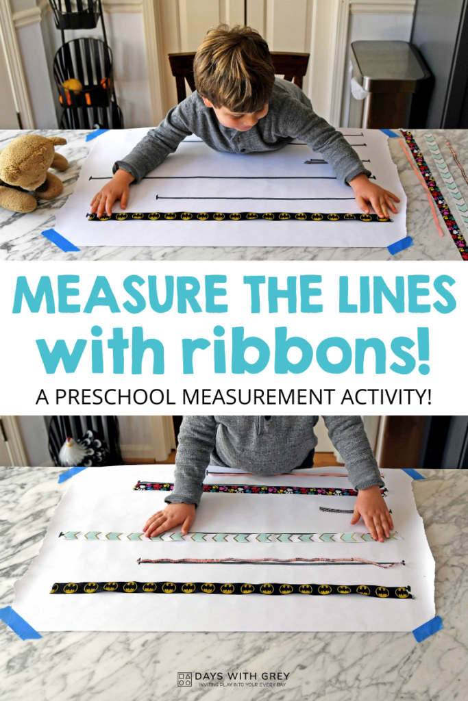 preschool measurement activity