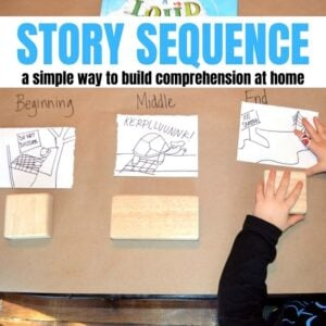 Story Sequence: Simple Way to Begin at Home