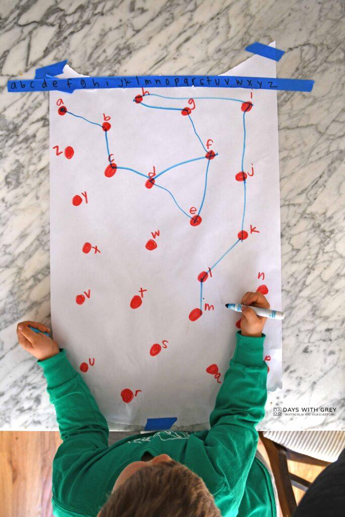 preschool alphabet activity