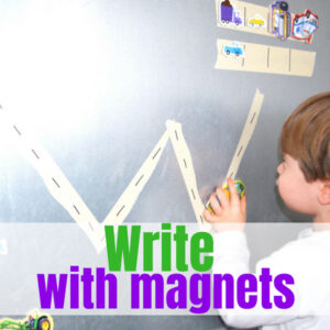 Magnetic Prewriting