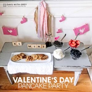 Valentine Pancake Party for Kids