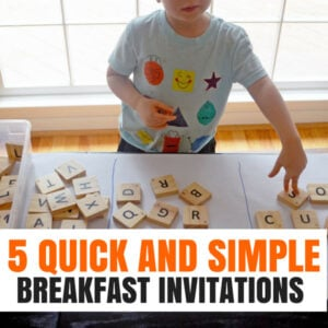 5 Quick and Simple Breakfast Invitations You Can Make In a Flash