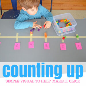 Count Up! An Easy Math Game for Preschoolers