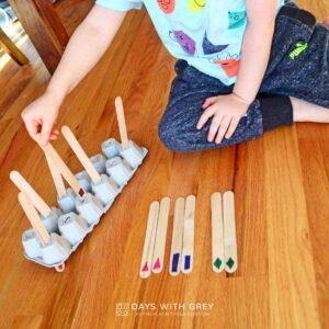 Craft Stick Shape Match