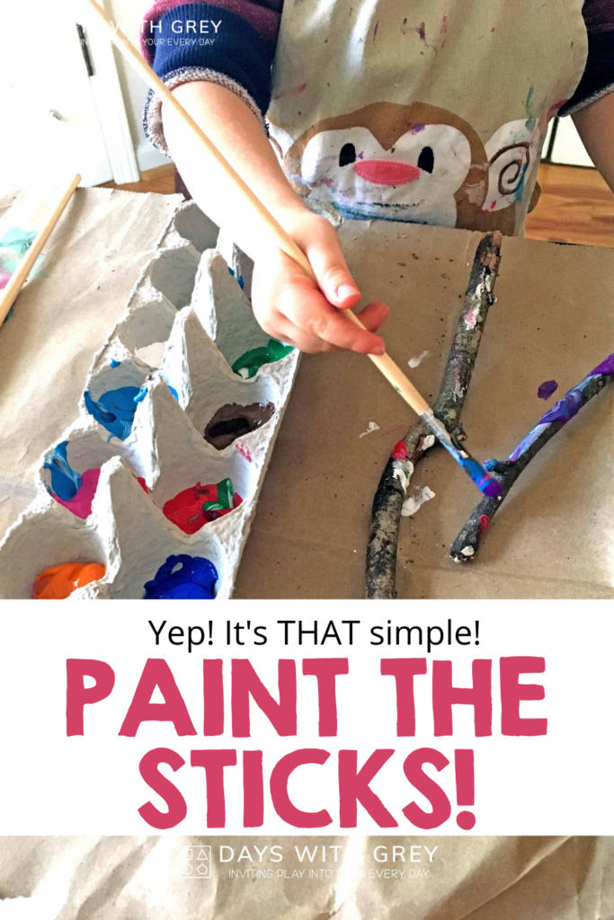 simple painting idea for kids